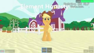 ROBLOX//My Little Pony++Song