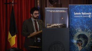 L. d'Orsi - Lauréat du «Prix Fondation Auschwitz» - 2017-10