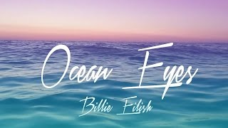 Gambar cover Billie Eilish - Ocean Eyes (Lyrics)