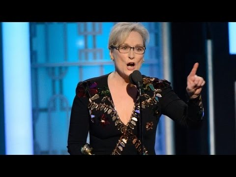 HOLLYWOOD DEMOCRAT MERYL STREEP GAVE AMERICA DONALD TRUMP: Thank Streep For Trump Beating Clinton