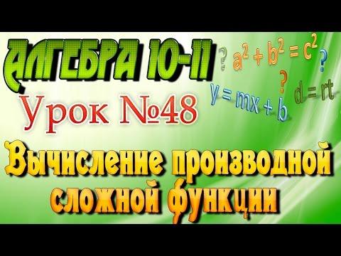 Производная функции ➽ Алгебра 10 - 11 класс ➽ Видеоурок