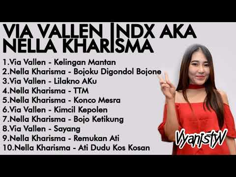 Via Vallen Nella Kharisma Spesial Lagu NDX AKA