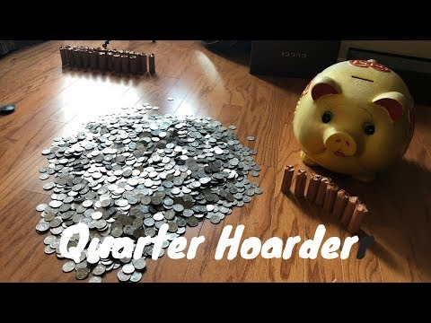 Counting 12 YEARS of Piggy Bank Savings!!!