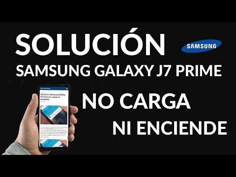 Solución: Samsung Galaxy J7 Prime no Carga, ni Enciende