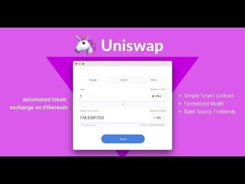 UniSwap Decentralized Exchange - How to Trade & Earn!