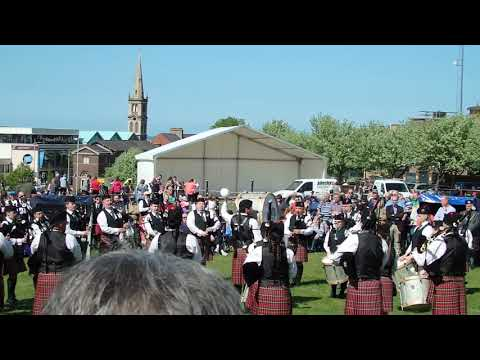PSNI Pipe Band - Ards & North Down Championships 2016 - MSR