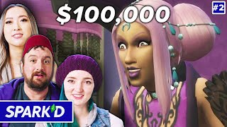 Pro Sims Players Build Supernatural Stories For $100k In The Sims 4 • Spark'd Ep. 2