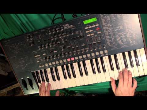 KORG MS2000 custom sounds (part1)