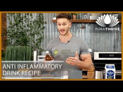 Inflammation Reducing Drink Recipe | PuraTHRIVE – Thomas DeLauer