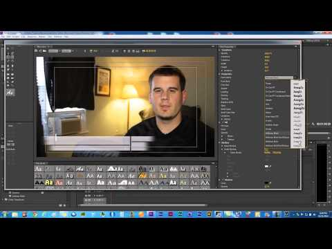 DSLR Tutorial on Importing, Editing & Exporting in Adobe Premiere Pro CS6 for YouTube