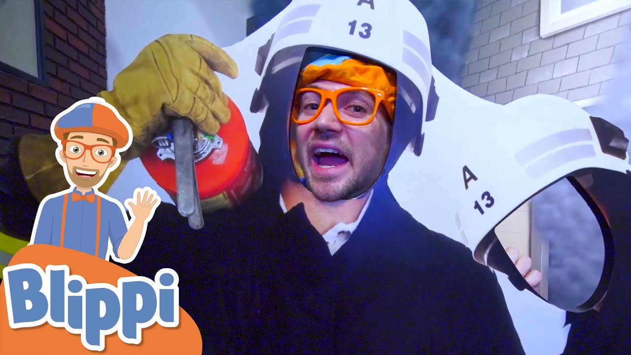 Blippi Visits a Children's Museum! | Learn Colors and Numbers | Educational Videos For Kids