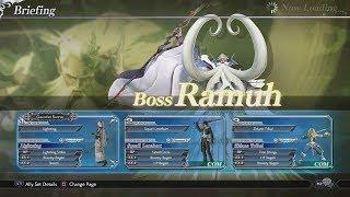 Dissidia Final Fantasy NT - Ramuh Boss Battle Gameplay Walkthrough [1080p 60FPS HD]