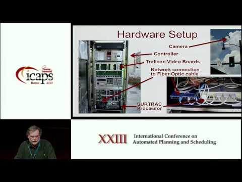 ICAPS 2013: Stephen F Smith - Smart Urban Signal Networks Initial Application of the SURTRAC Adapt