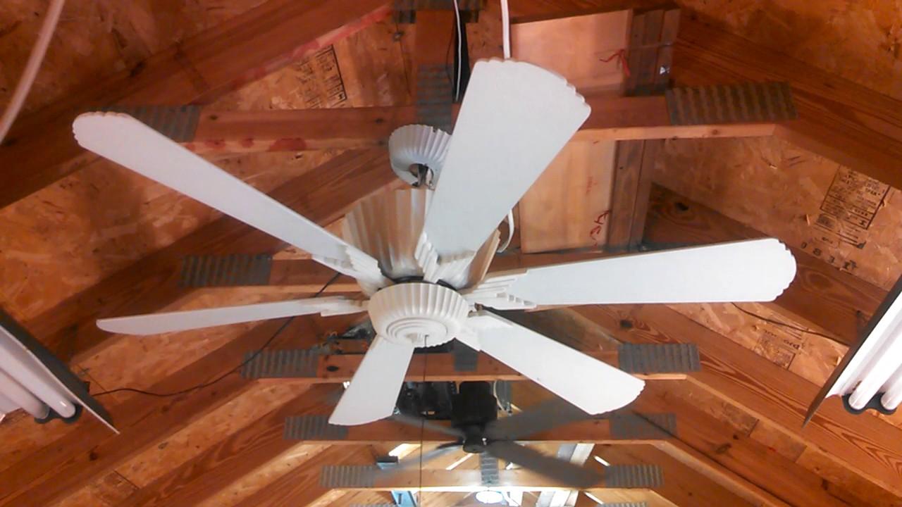 homestead metro ceiling fan in white youtube. Black Bedroom Furniture Sets. Home Design Ideas