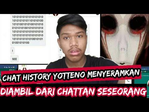 Chat history horor yotteno | ko tau ya?