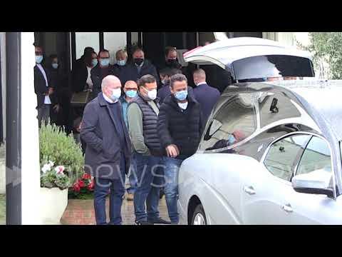 Enzo Salvi ai funerali del padre di Francesco Totti