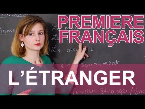 L'Étranger, Camus - Français - 1ère - Les Bons Profs