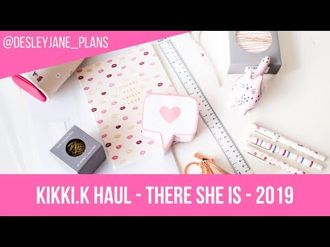 Fabulous Kikki.K Haul - There She Is And Essentials