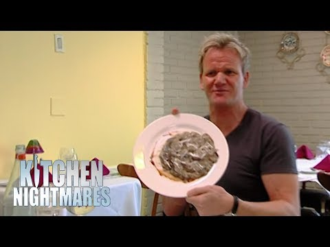 Gordon is Served Risotto That's STUCK TO THE PLATE! | Kitchen Nightmares