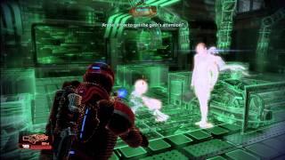 Mass Effect 2 - Atlas Station - Overlord DLC - Paragon Ending - Boss Fight