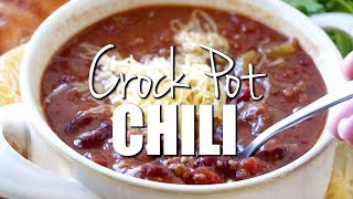 How to make: Best Crock Pot Chili