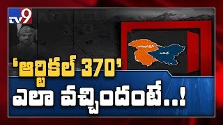 History of Article 370 - TV9