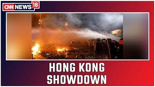 Cops Use Tear Gas Against Protesting HK Polytechnic University Students   CNN News18