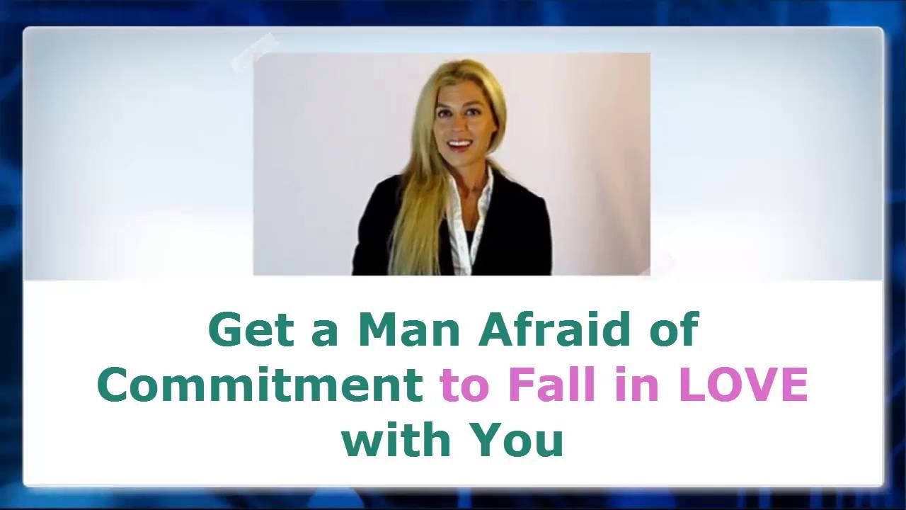 in love but afraid of commitment