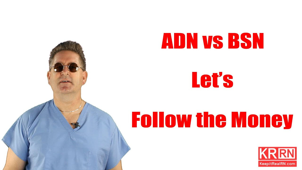 nursing adn vs bsn