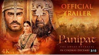 Panipat Trailer ll Sanjay Dutt Kriti Sanon and Arjun Kapoor ll Ashutosh Gowarikar ll 6 December