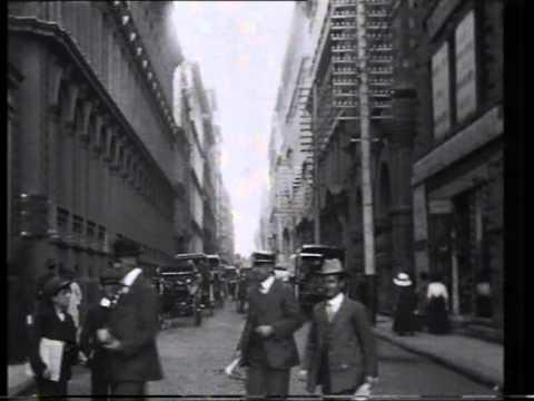 Little Collins St 1910 Melbourne
