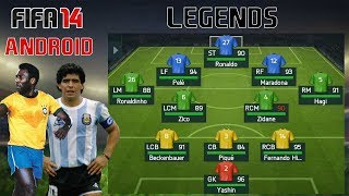 FIFA 14 ANDROID | LEGENDS | GAMEPLAY | DOWNLOAD | UNLOCKED