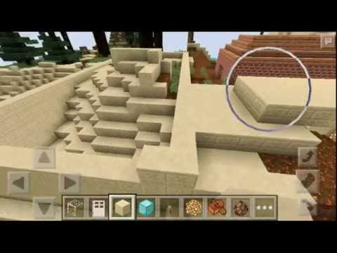 how to build a minecraft pe castle