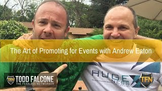 The Art of Promoting for Events with Andrew Eaton