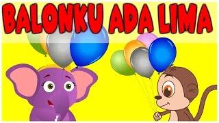 Balonku ada lima | Lagu Anak Indonesia Populer | Kumpulan 18 minutes | Versi baru