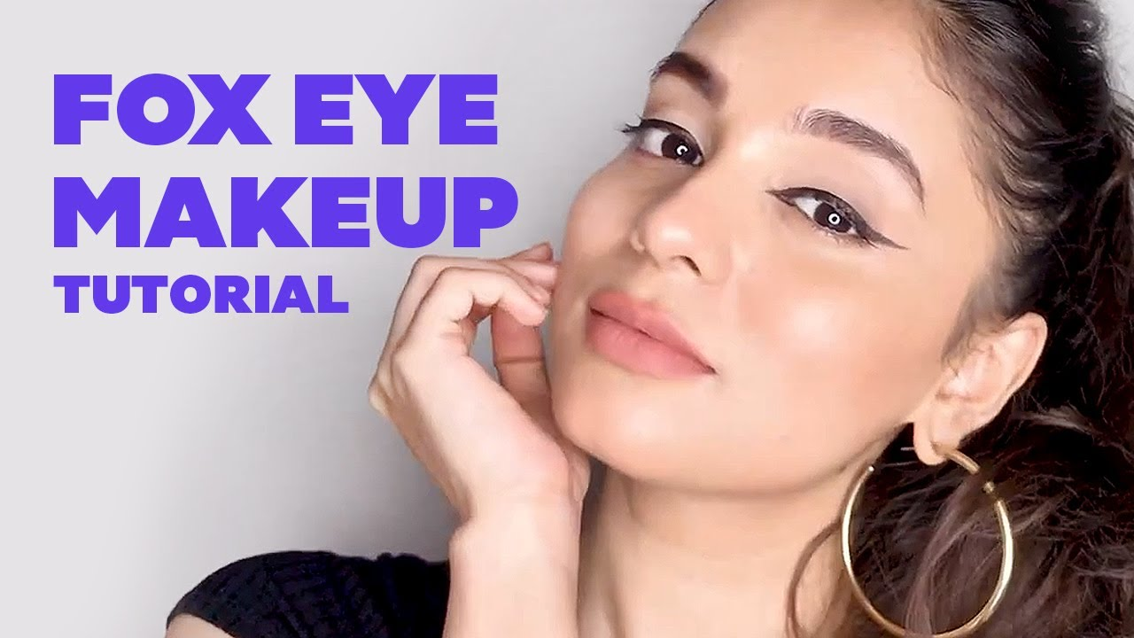 How To Do A Fox Eye Makeup | Makeup Tips To Make Your Eyes Look Bigger W/O Surgery | Be Beautiful