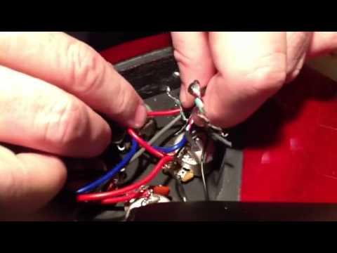 EPIPHONE SG-400 pickup swap - YouTube