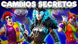 New Skins & Secret Changes In Patch 5.4.1 - Fortnite Secrets