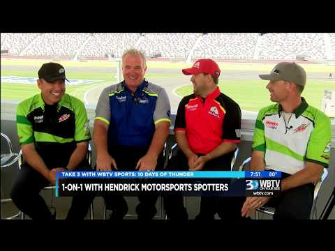 The Spotters of Hendrick Motorsports Talk One-On-One With WBTV