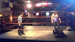 Andrea the GIANT™ vs Teila  - New Era Wrestling 11-17-2012