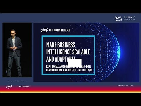AWS Summit Singapore - Make Business Intelligence Scalable and Adaptable