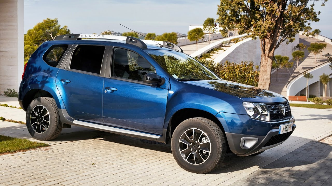 dacia duster 2017 with edc automatic transmission youtube. Black Bedroom Furniture Sets. Home Design Ideas