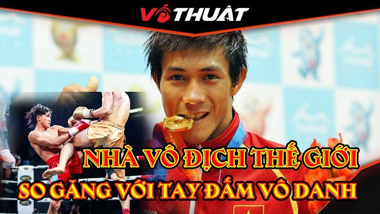 Nhà VĐTG muay Thái Nguyễn Trần Duy Nhất về Bình Định so găng cùng võ sư võ đường Phan Thọ 😱