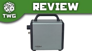 Airbrush Review: Sparmax Airism Mini Compressor Unboxing