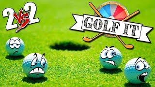 2vs2 ROSIK a COPPIE  - Golf It [ITA] w/ Eren, Tear & Dani