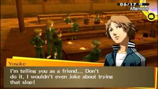 Persona 4 Golden - Funny moments