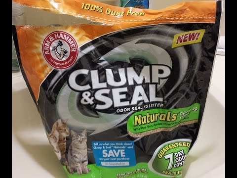 New Arm&Hammer Clump and Seal Natural litter is Awesome - great scent, hard clumping