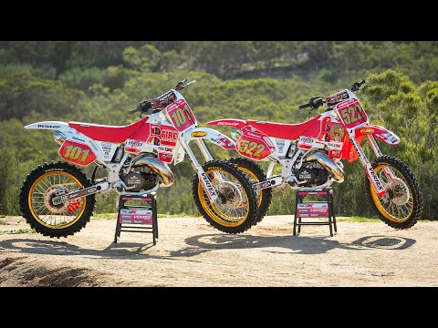 Racer X Films: 1992 and 1993 Honda CR500 Builds