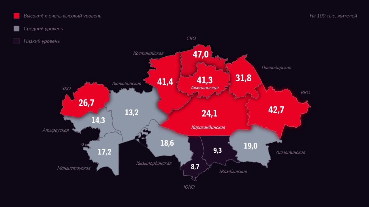 какая страна занимает 1 место по суицидам