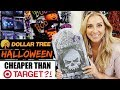 Dollar Tree Halloween Decor Haul CHEAPER than Target Dollar Spot!